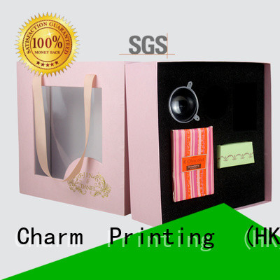 Charm Printing luxury type magnetic gift box bulk production dental products
