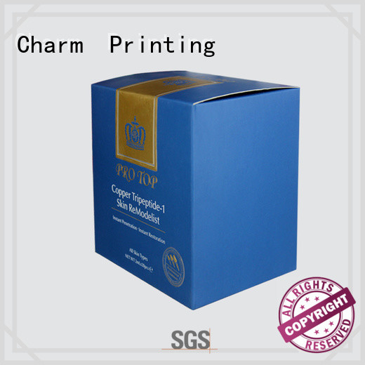 Charm Printing handmade cosmetic packaging uv printing shop promotion