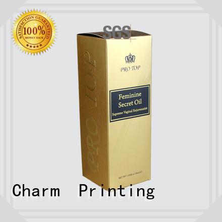 CharmPrinting wine packaging box luxury design food packaging