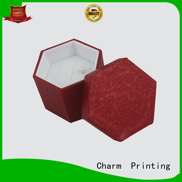 Charm Printing custom jewelry packaging factory price for luxury box