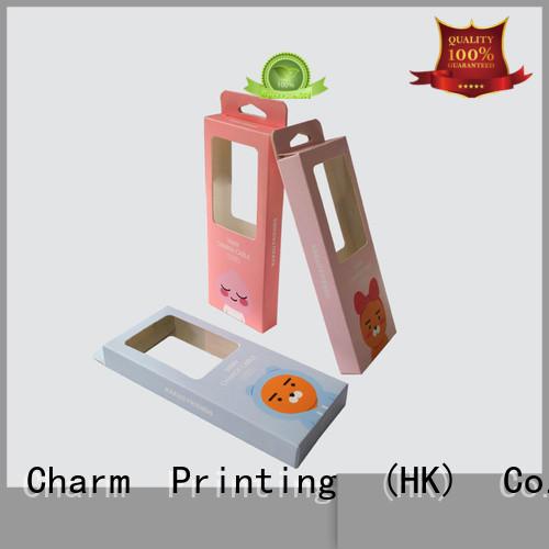 CharmPrinting packaging box handmade for electronic produts