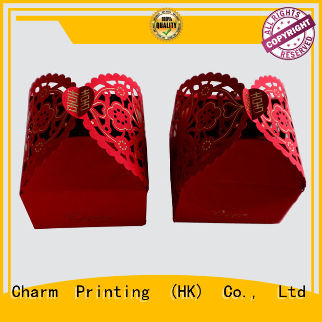 CharmPrinting wedding packaging for wholesale for luxury box