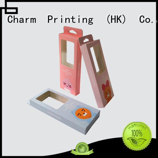 Charm Printing professional design packaging box handmade for box packaging