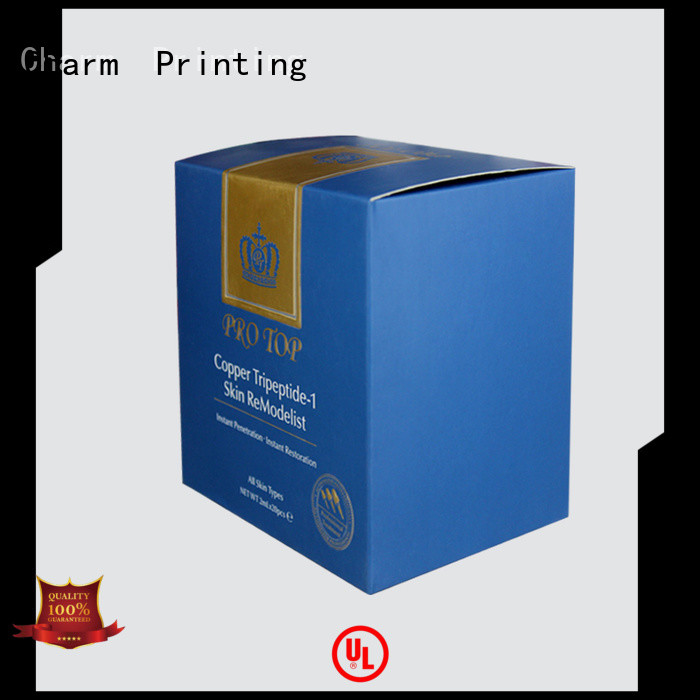 Charm Printing cosmetic packaging offset printing storage