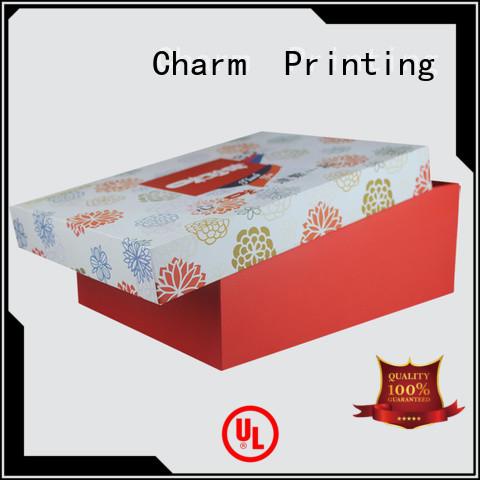 CharmPrinting custom pillow box factory price for gift