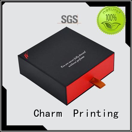 CharmPrinting fragrance box printing color for modern mowen