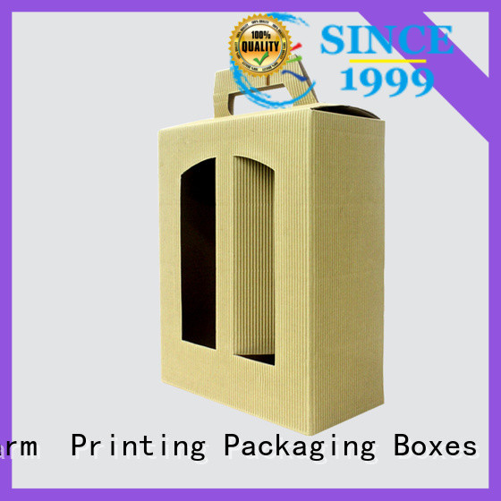 Charm Printing wine packaging box luxury design alcohol packaging