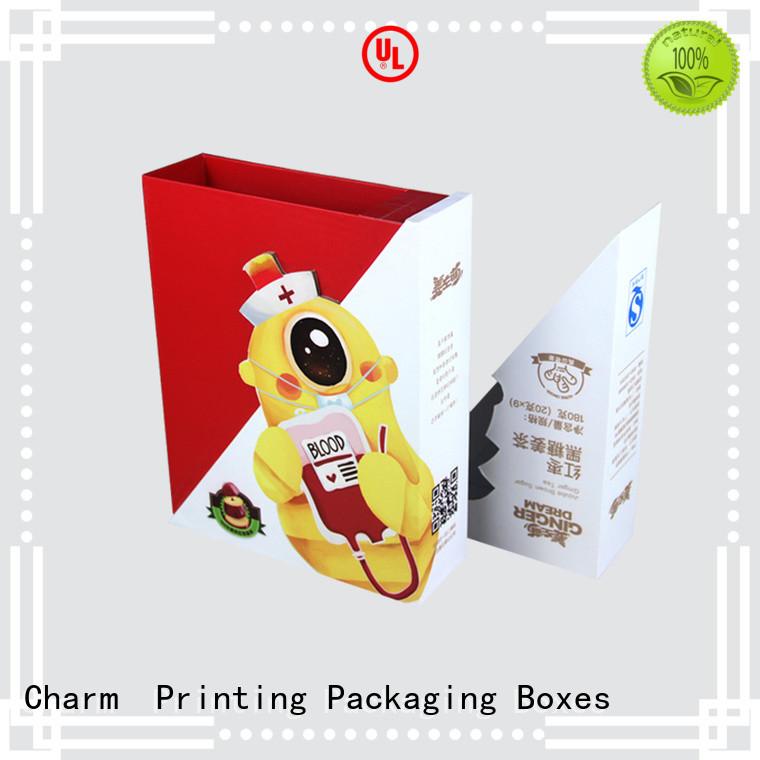 CharmPrinting pillow box high quality for gift