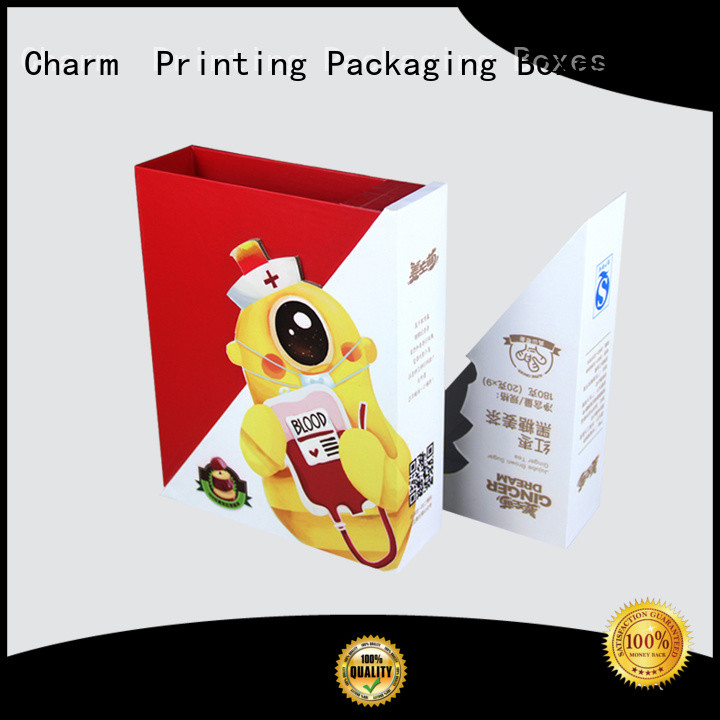 Charm Printing with tray food packaging boxes factory price for food packaging
