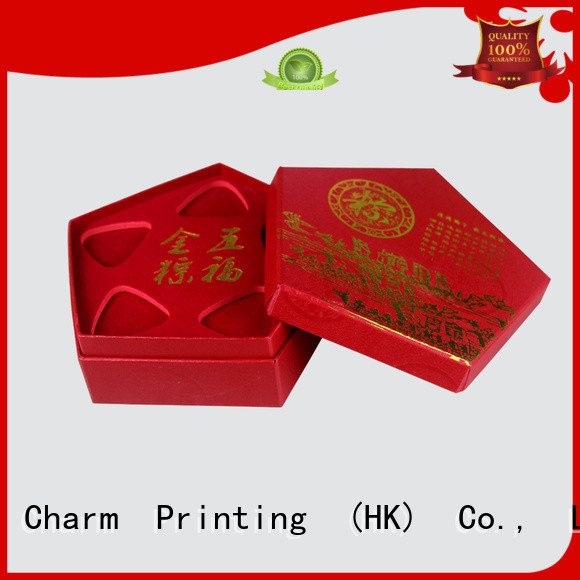 Charm Printing with tray jewelry box luxury design for jewelry packaging