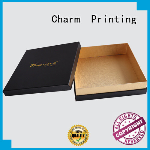 CharmPrinting chocolate packaging box thick luxury box