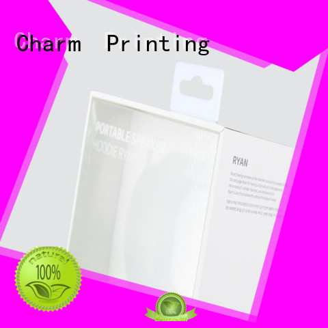 Professional Custom Electronics packaging Box With Blister Tray