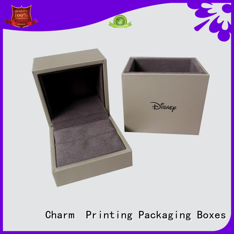 Charm Printing with tray jewelry packaging luxury design for jewelry packaging