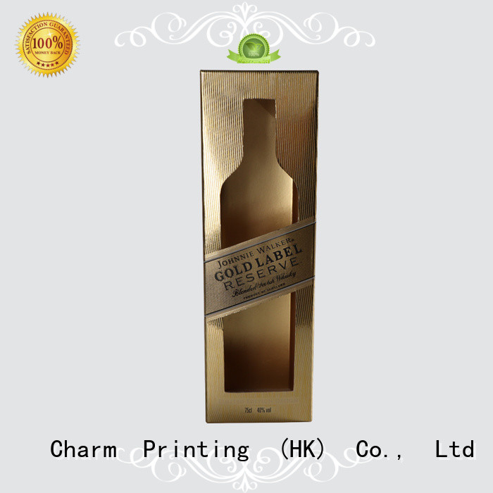 CharmPrinting personalized wine gift box luxury design food packaging