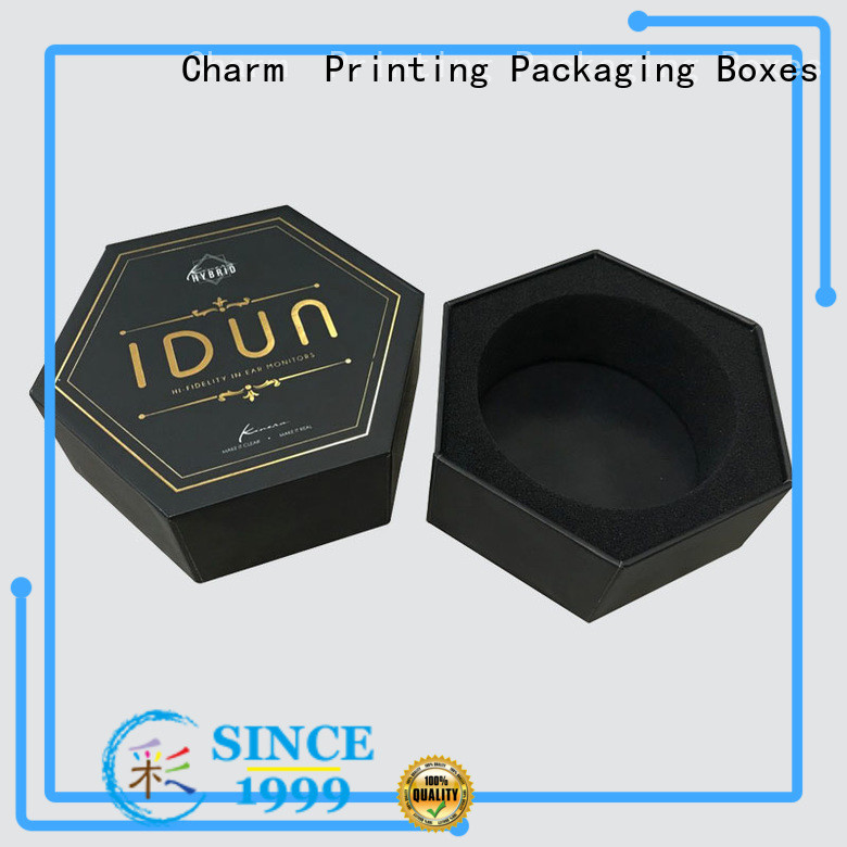 CharmPrinting packaging box colorful for gift box