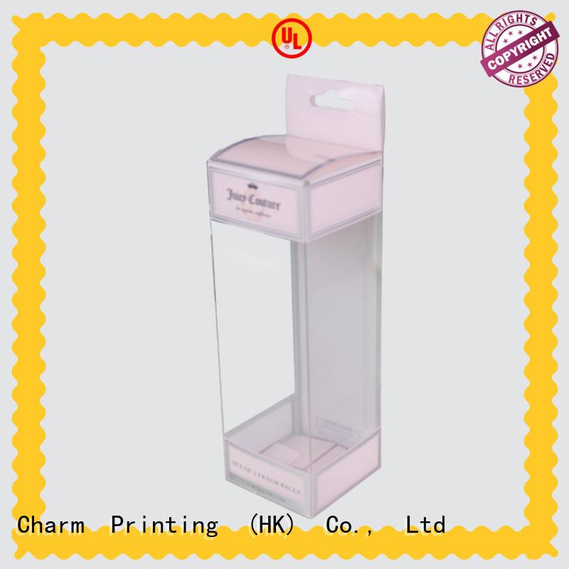 CharmPrinting handmade cosmetic packaging uv printing storage