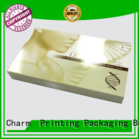 Charm Printing handmade makeup cosmetic box shop promotion
