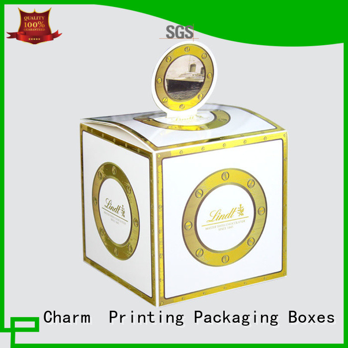 CharmPrinting gift packaging creative design for luxury box