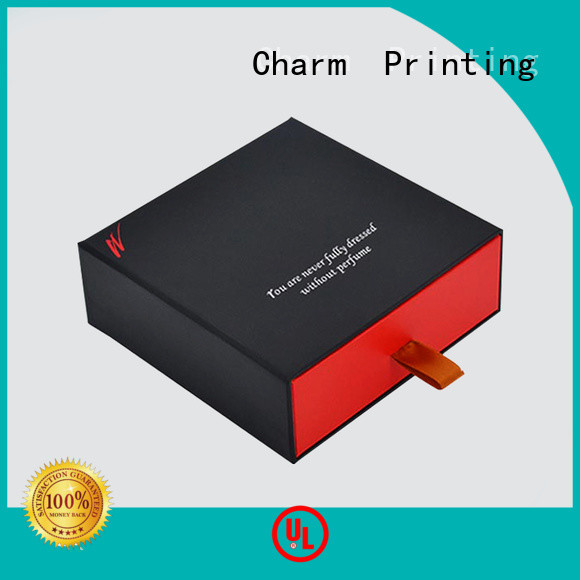 Charm Printing customization fragrance box free sample for modern mowen