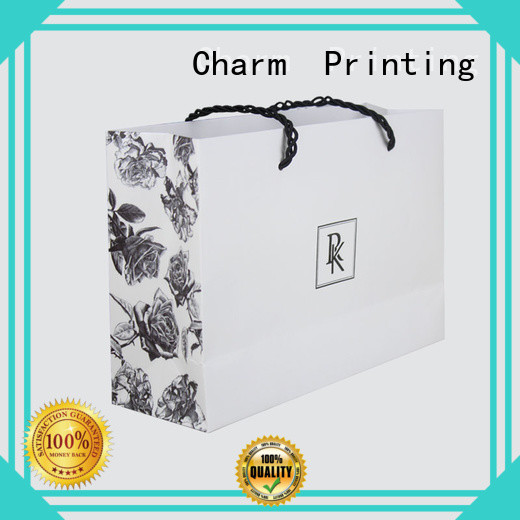 CharmPrinting paper gift bags fashion design for gift box