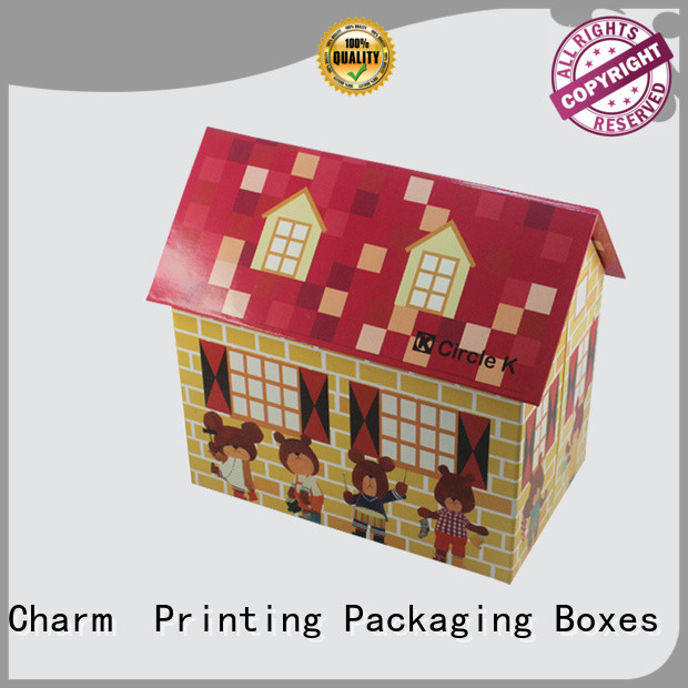 Charm Printing toy packaging supplier gift packaging