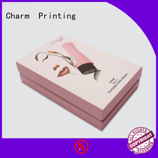 Charm Printing carboard paper gift box gift box