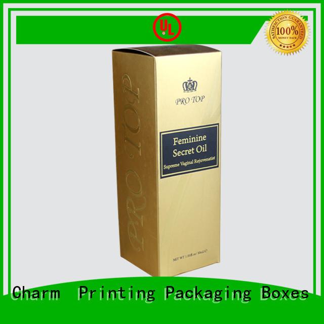 CharmPrinting corrugated wine packaging box luxury design food packaging
