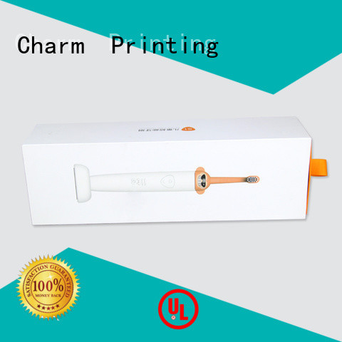 CharmPrinting carboard magnetic gift box base box dental products