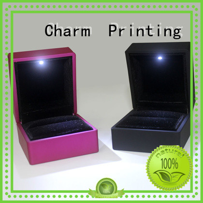 book shape jewelry packaging factory price for luxury box