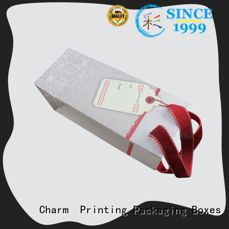 Charm Printing custom paper gift bags latest for shopping bag
