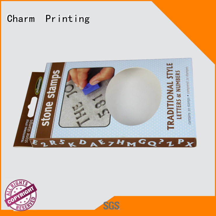 CharmPrinting fashion design toy packaging supplier gift packaging