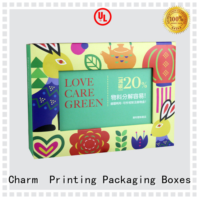 CharmPrinting pillow box factory price for food packaging