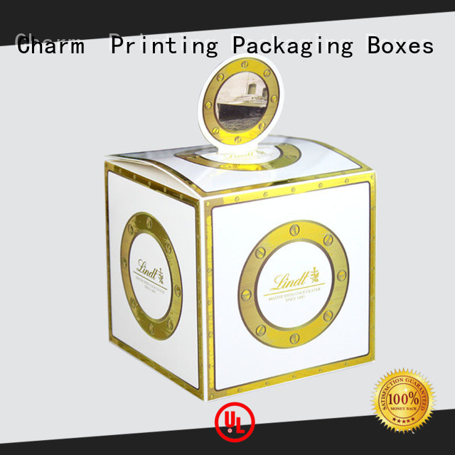 Charm Printing gift packaging bulk production for gift