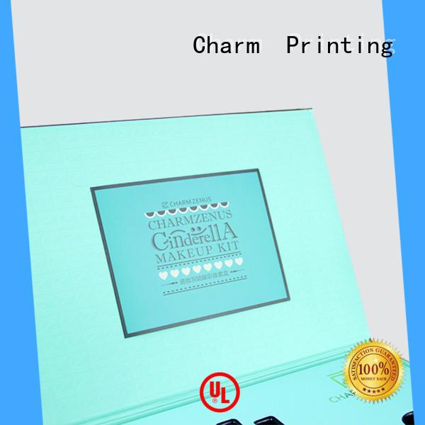 CharmPrinting handmade cosmetic box offset printing gift package