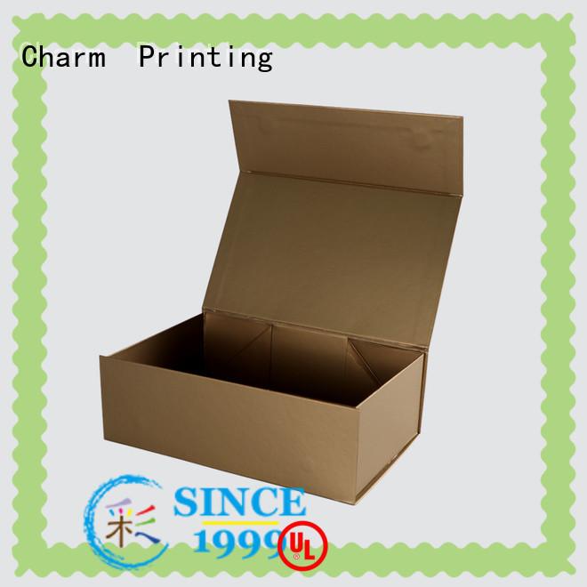 CharmPrinting handmade cosmetic packaging box uv printing gift package