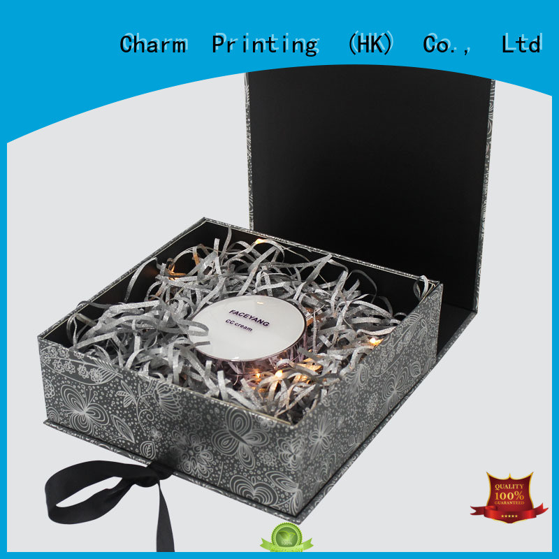 Charm Printing cosmetic packaging box offset printing shop promotion