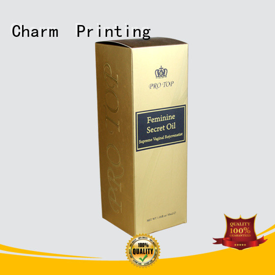 Charm Printing wine packaging box manufacturer food packaging