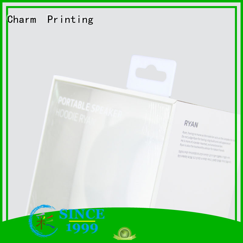 Charm Printing electronics packaging handmade for box packaging