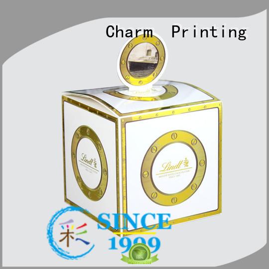 CharmPrinting wedding favour boxes bulk production for luxury box