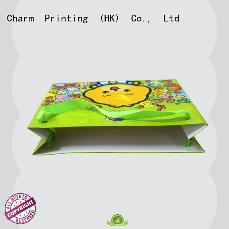 Charm Printing paper gift bags on-sale for paper bag