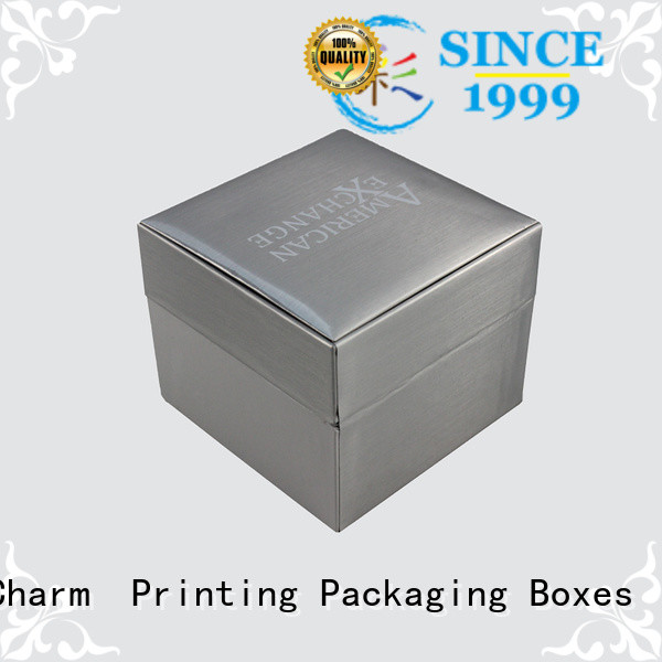 Charm Printing jewelry box luxury design for luxury box