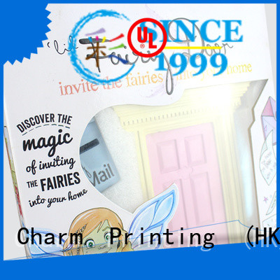 CharmPrinting colorful toy packaging boxes buy now corrugated Box