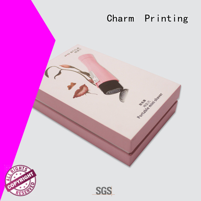 Charm Printing luxury type paper gift box for wholesale health care product