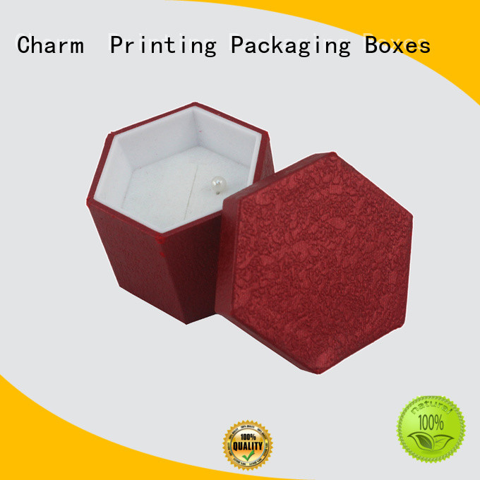 CharmPrinting custom jewelry packaging factory price for jewelry packaging