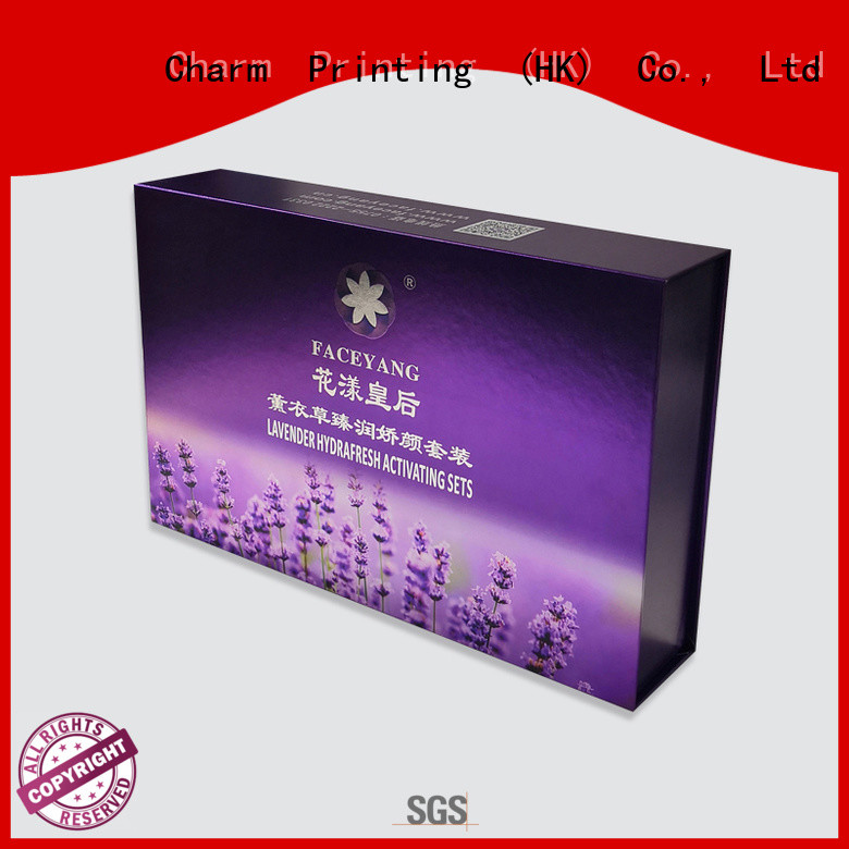 handmade cosmetic packaging box uv printing shop promotion