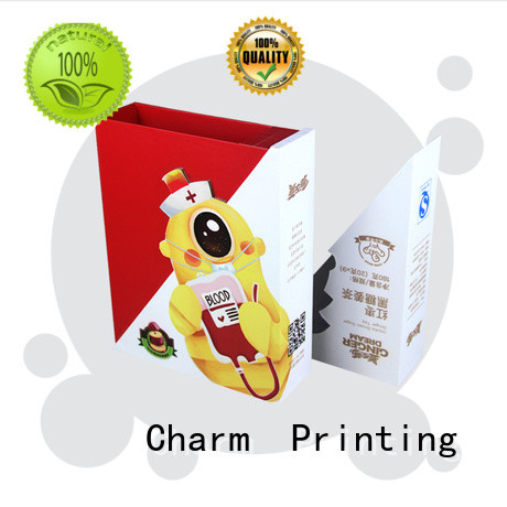CharmPrinting cardboard pillow boxes high quality for gift