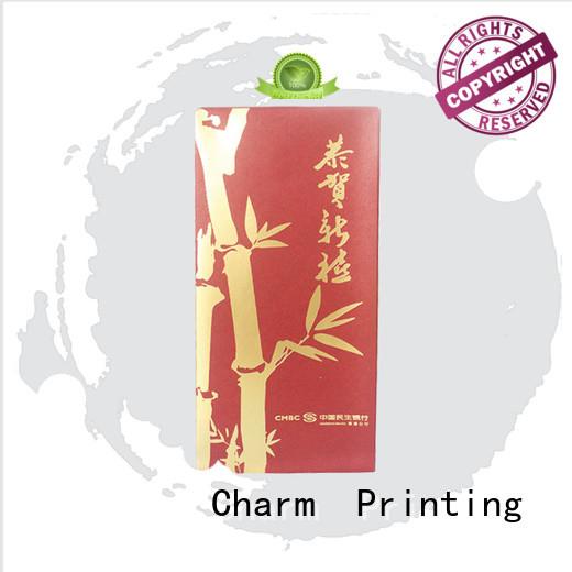 CharmPrinting custom gift box OEM for festival packaging