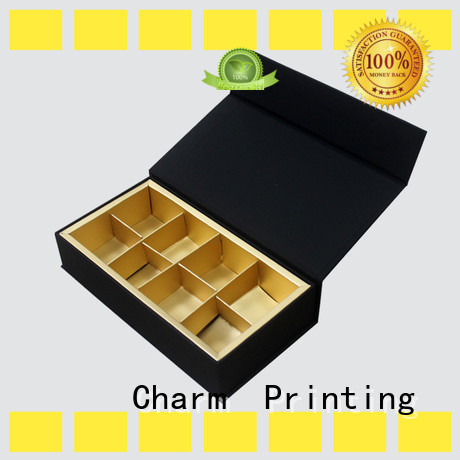 CharmPrinting chocolate packaging foil stamping luxury box