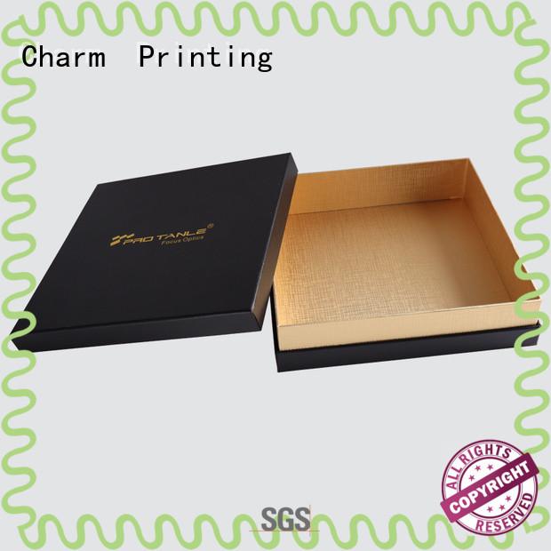 CharmPrinting book shape chocolate box foil stamping gift box