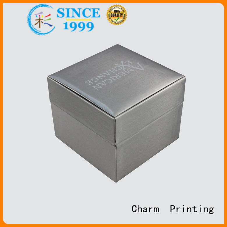 Charm Printing jewelry packaging box luxury design for luxury box